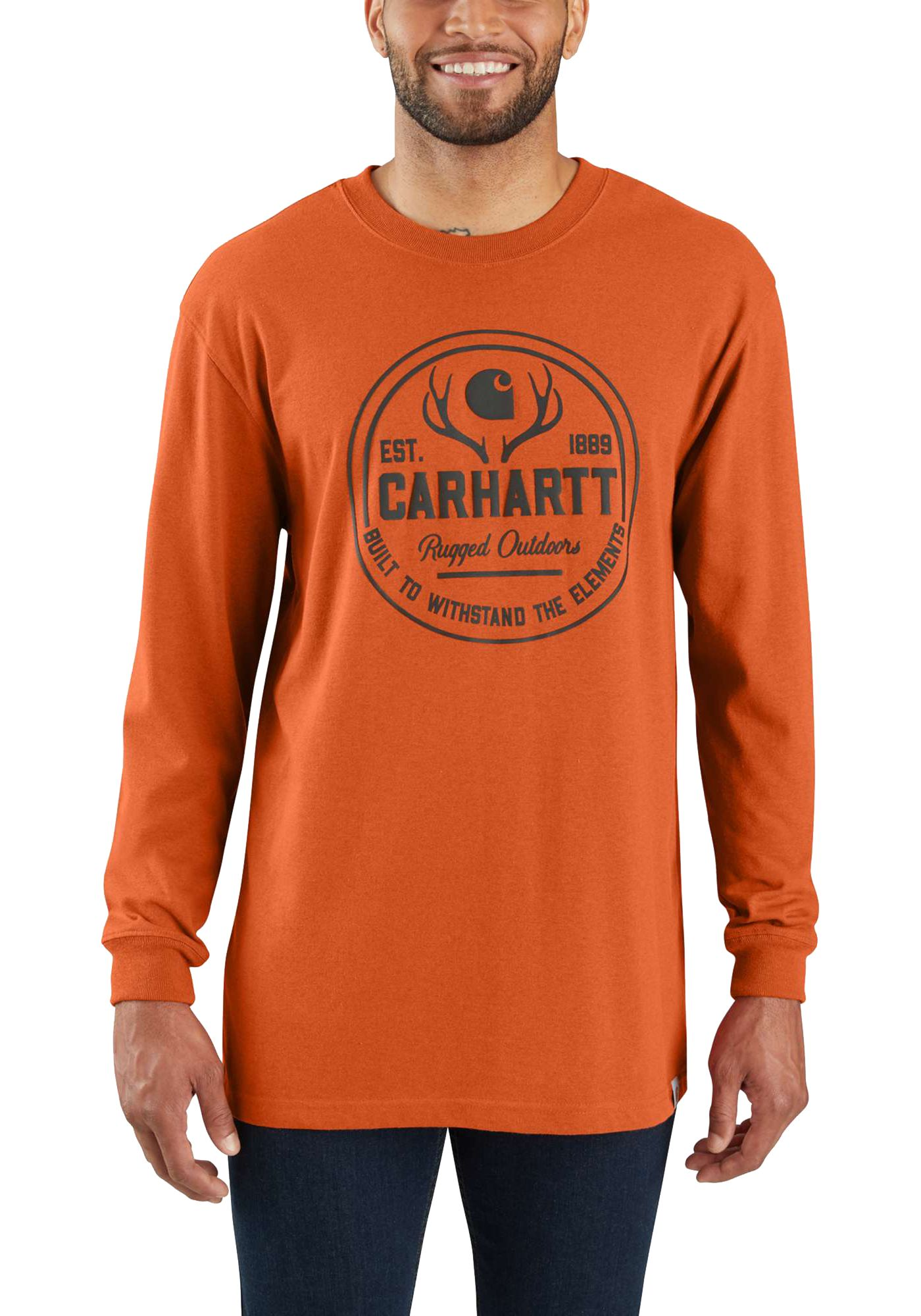 Carhartt Workwear Hunt Rugged Outdoors Graphic Long Sleeve T-Shirt