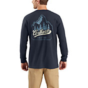 Carhartt Men's Workwear Mountain Patch Graphic Long Sleeve Pocket T-Shirt