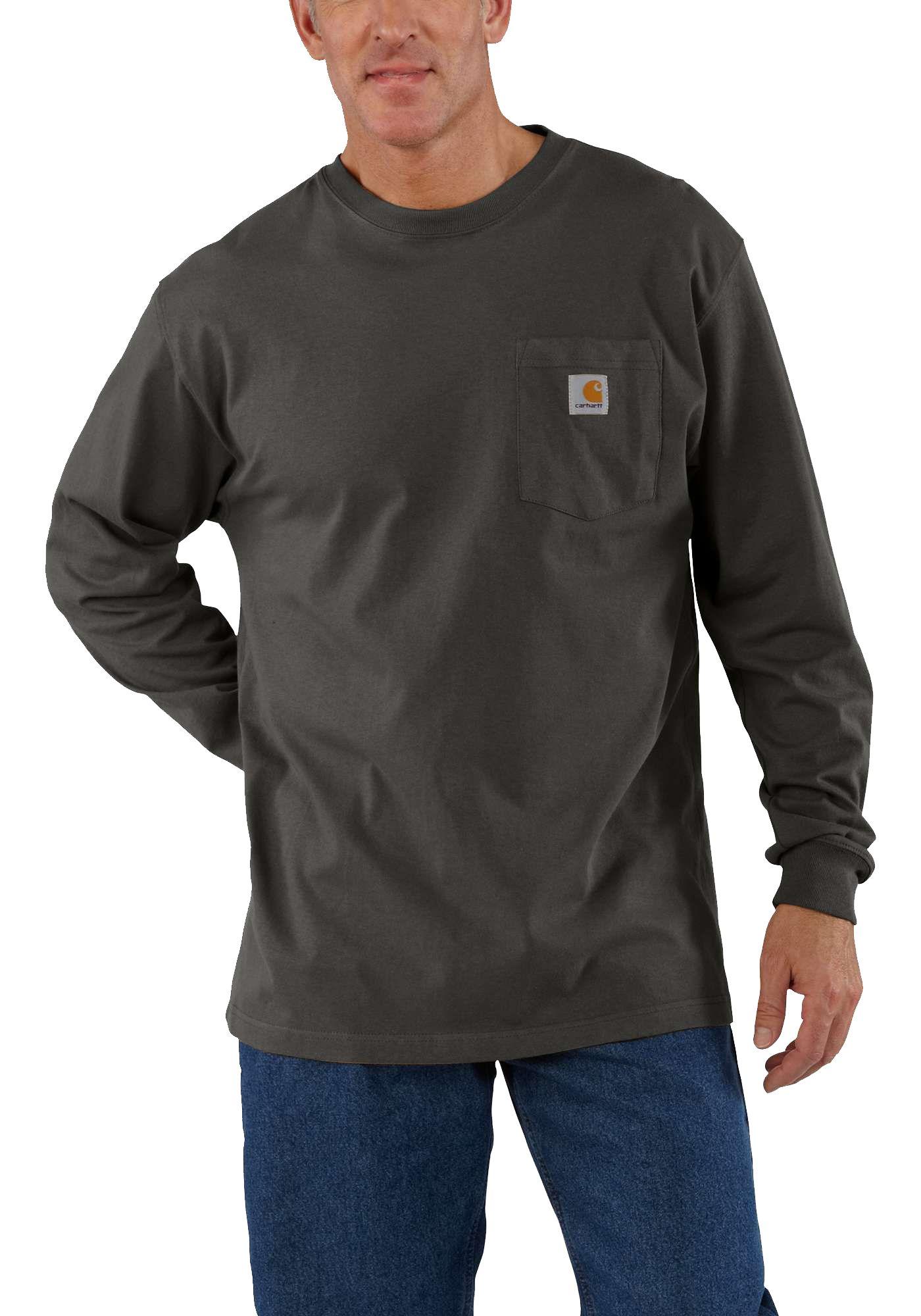Carhartt Men's Workwear Long Sleeve Pocket T-Shirt