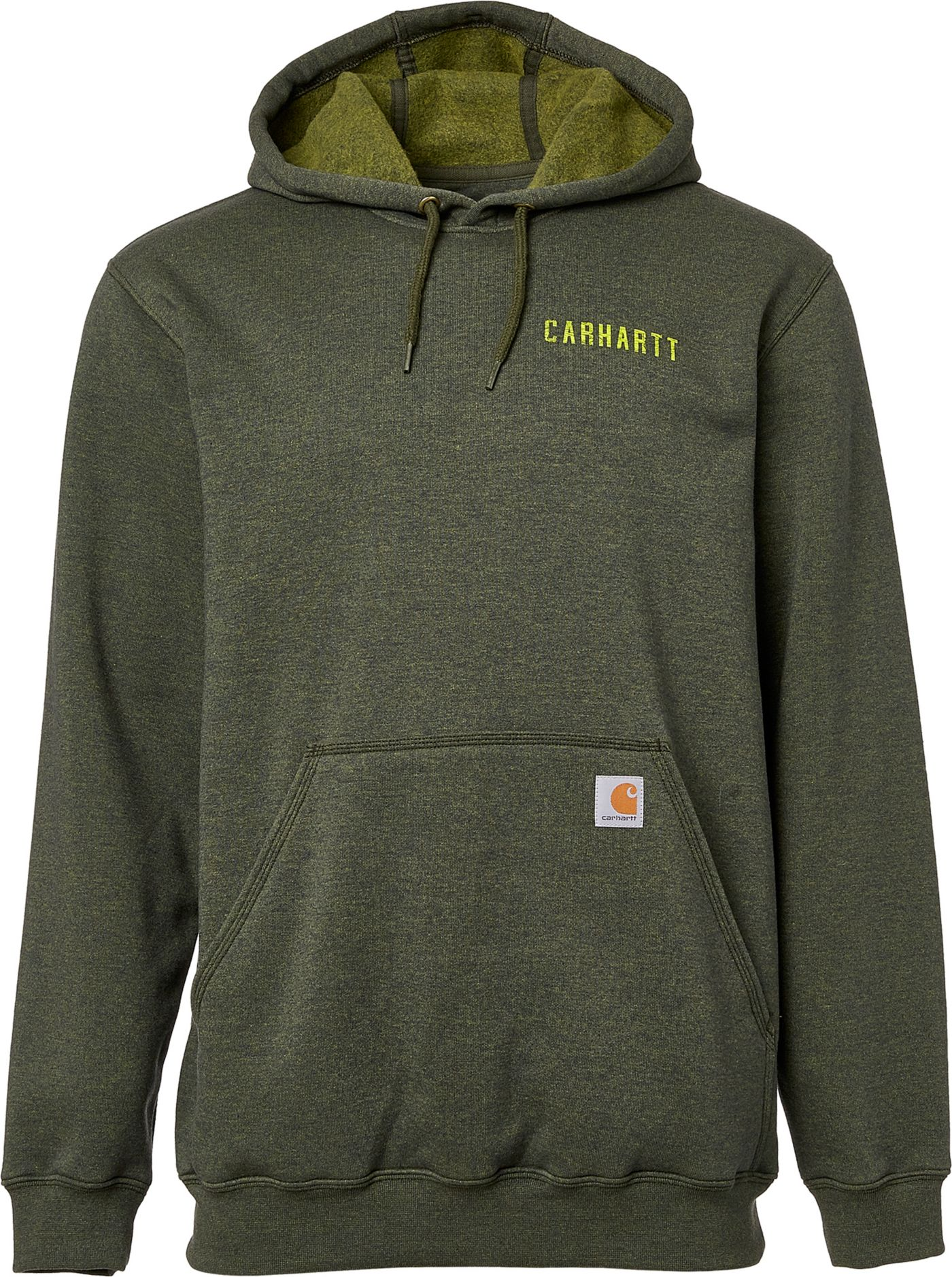 Carhartt Men's Rugged Workwear Graphic Hoodie