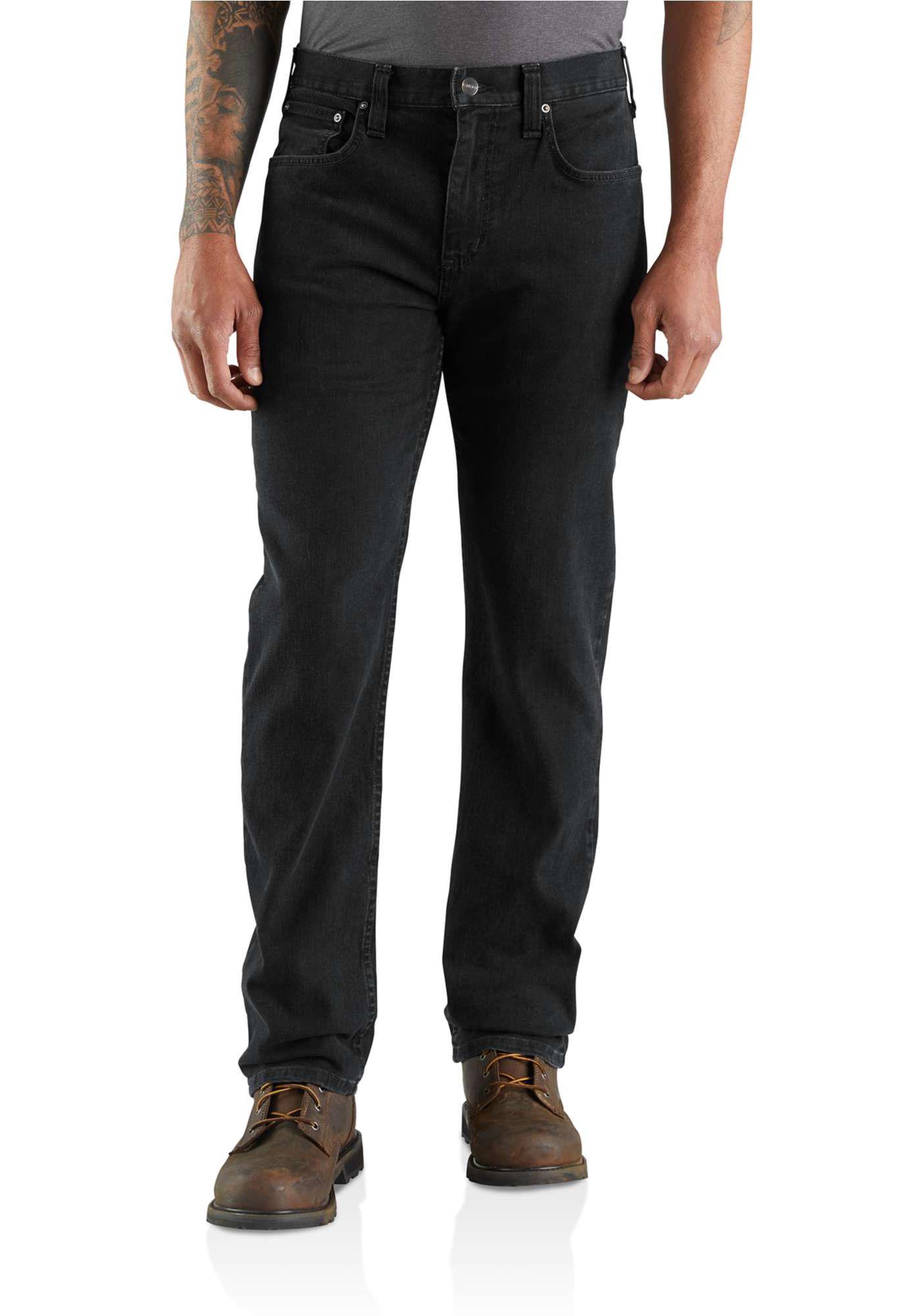 Carhartt Men's Rugged Flex Relaxed Fit Straight Leg Jeans