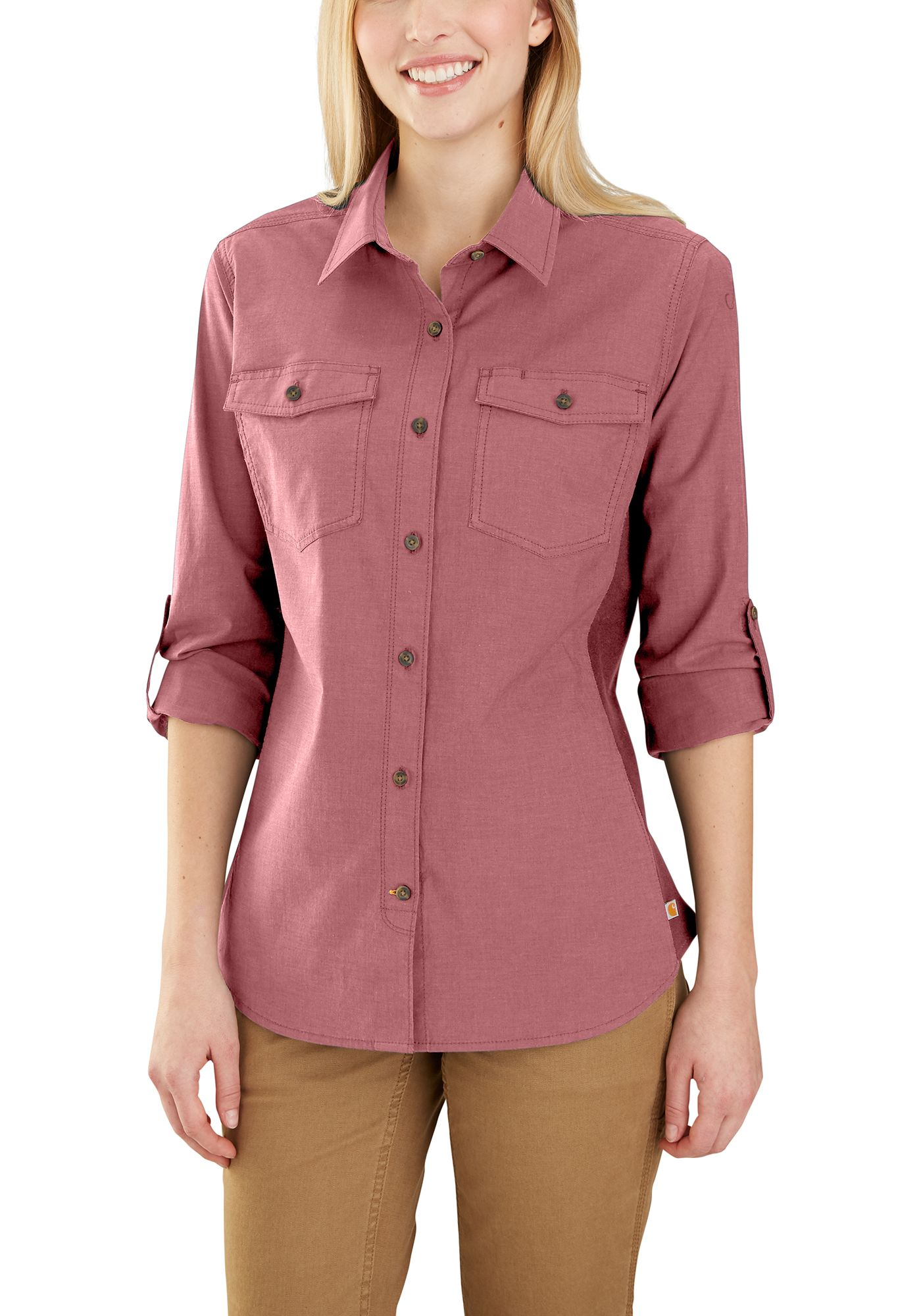 Carhartt Women's Rugged Flex Bozeman Button Down Shirt