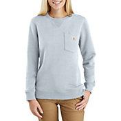 Carhartt Women's Clarksburg Crewneck Pocket Sweatshirt