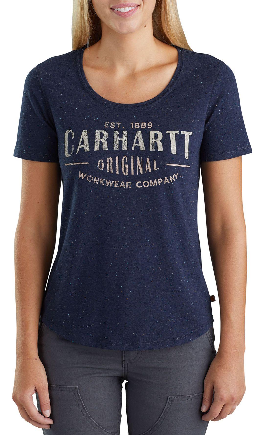 a8bfd8ec07 Women's Carhartt Graphic Workwear Short Sleeve T-   Field & Stream