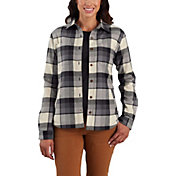 Carhartt Women's Rugged Flex Hamilton Fleece-Lined Shirt