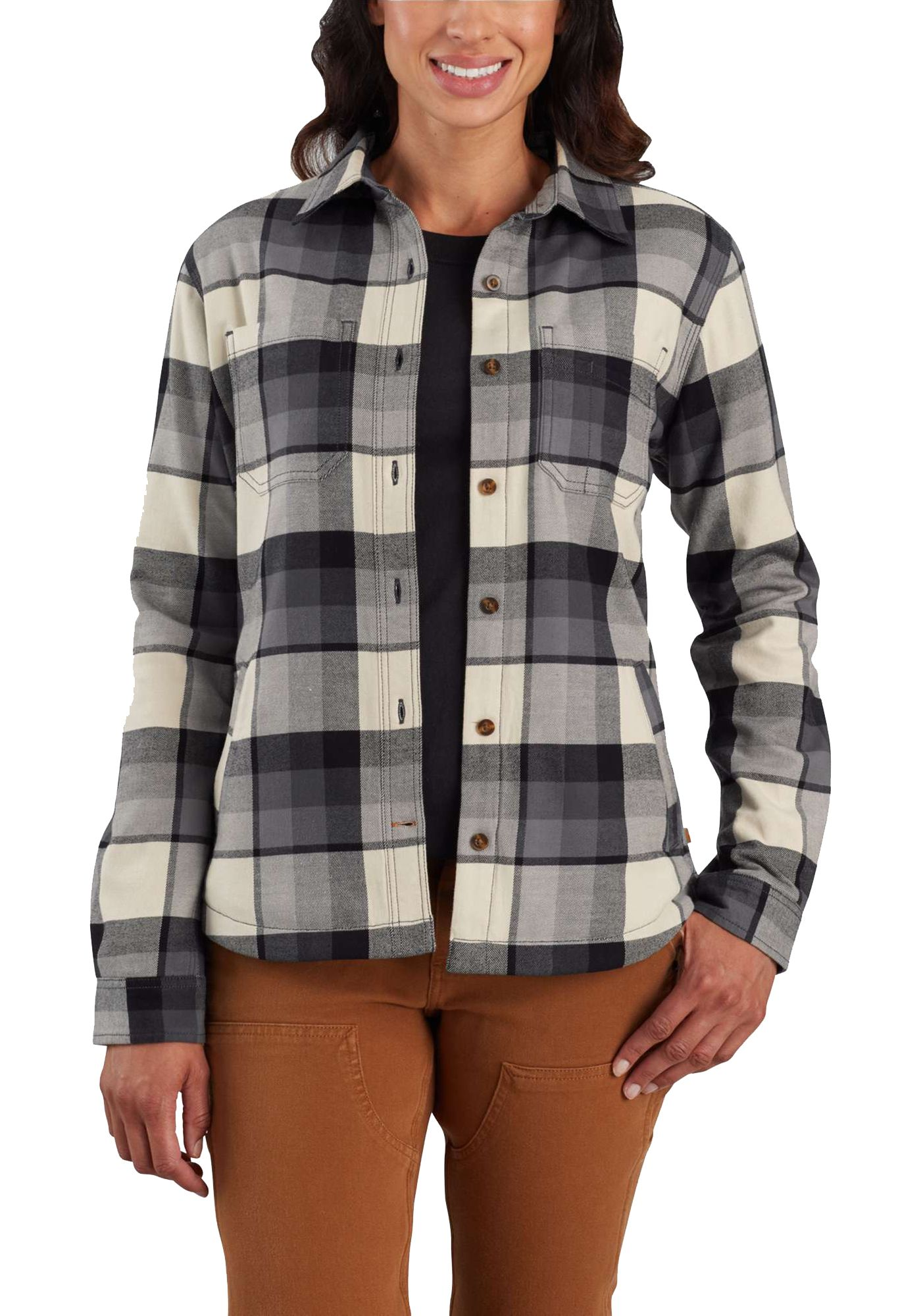 Carhartt Women's Rugged Flex Hamilton Fleece-Lined Shirt