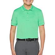 Callaway Boys' Micro Hex Golf Polo