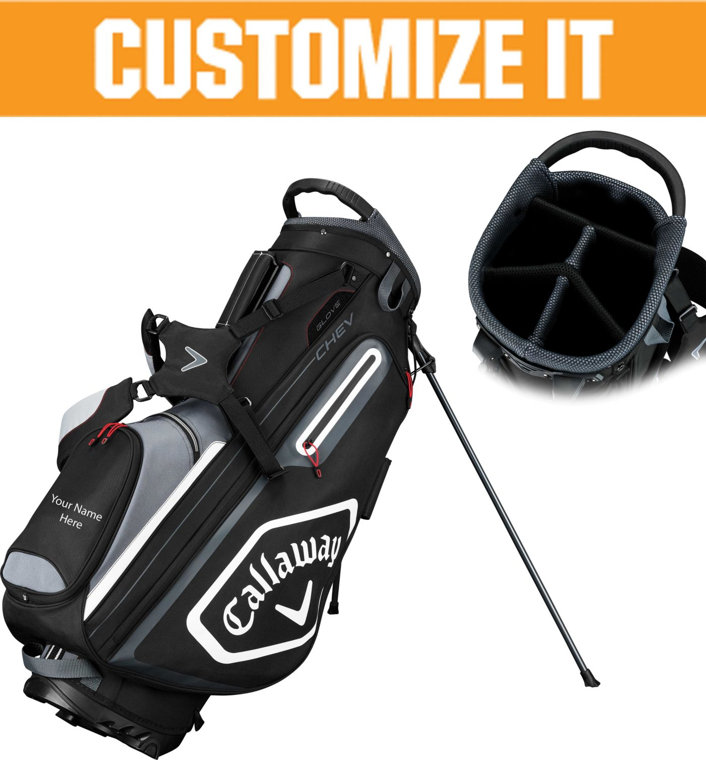 Callaway 2019 Chev Personalized Stand Golf Bag