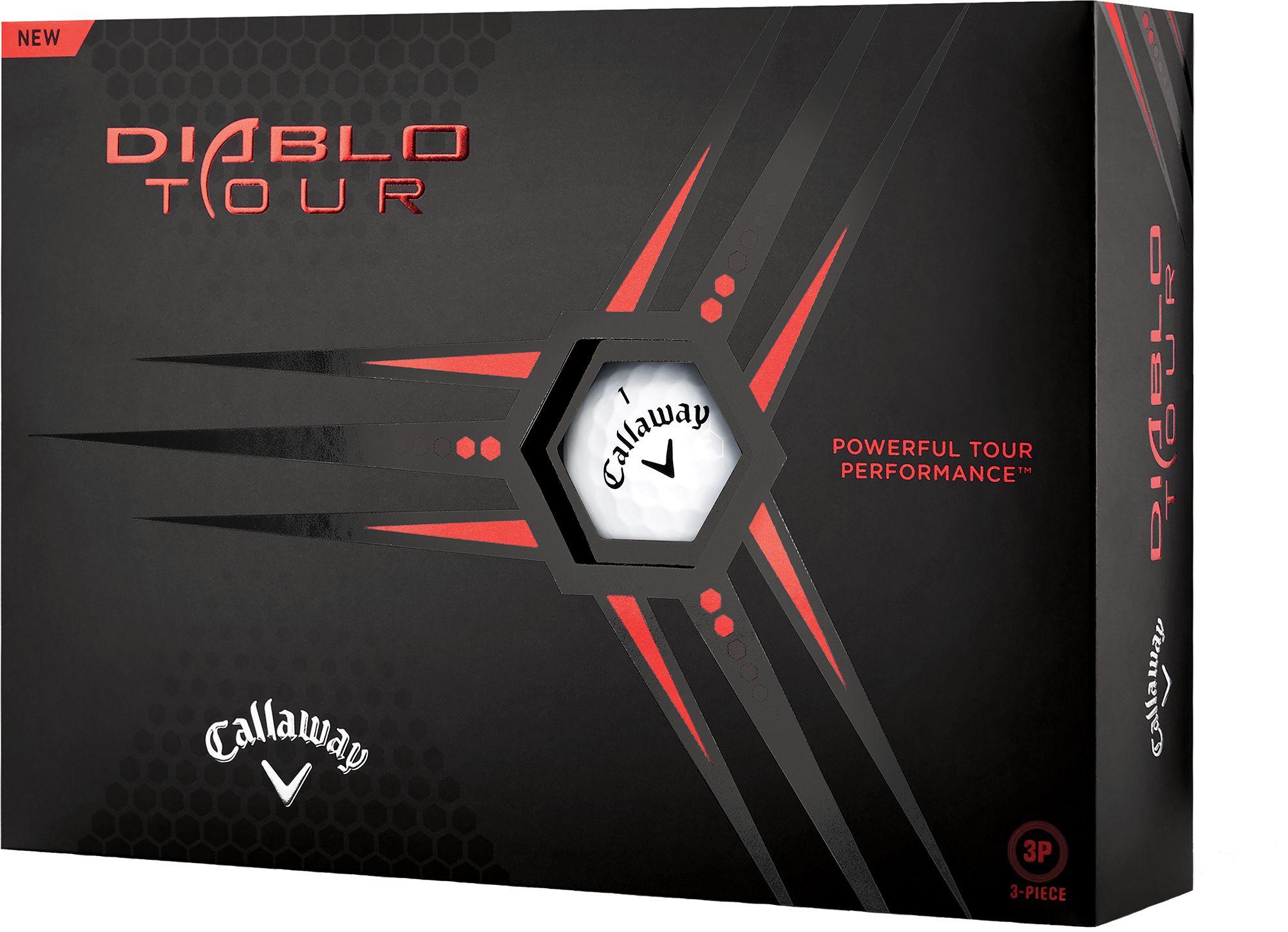Callaway 2020 Diablo Tour Golf Balls, green
