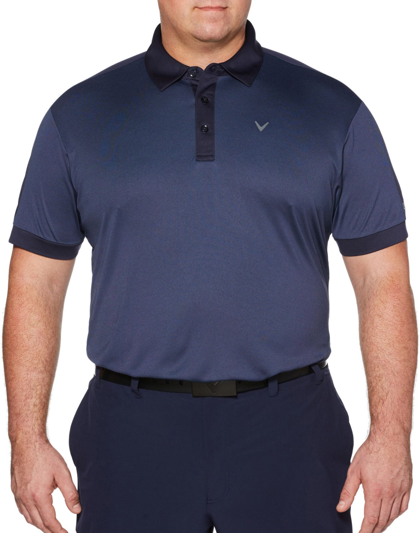 Callaway Men's Birdseye Golf Polo