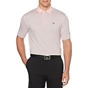 Callaway Men's 3-Color Striped Golf Polo - Big & Tall