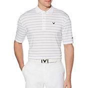 Callaway Men's Ventilated Stripe Golf Polo - Big & Tall
