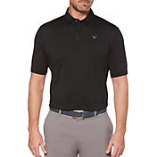 Callaway Men's Cooling Micro Hex Golf Polo – Big & Tall