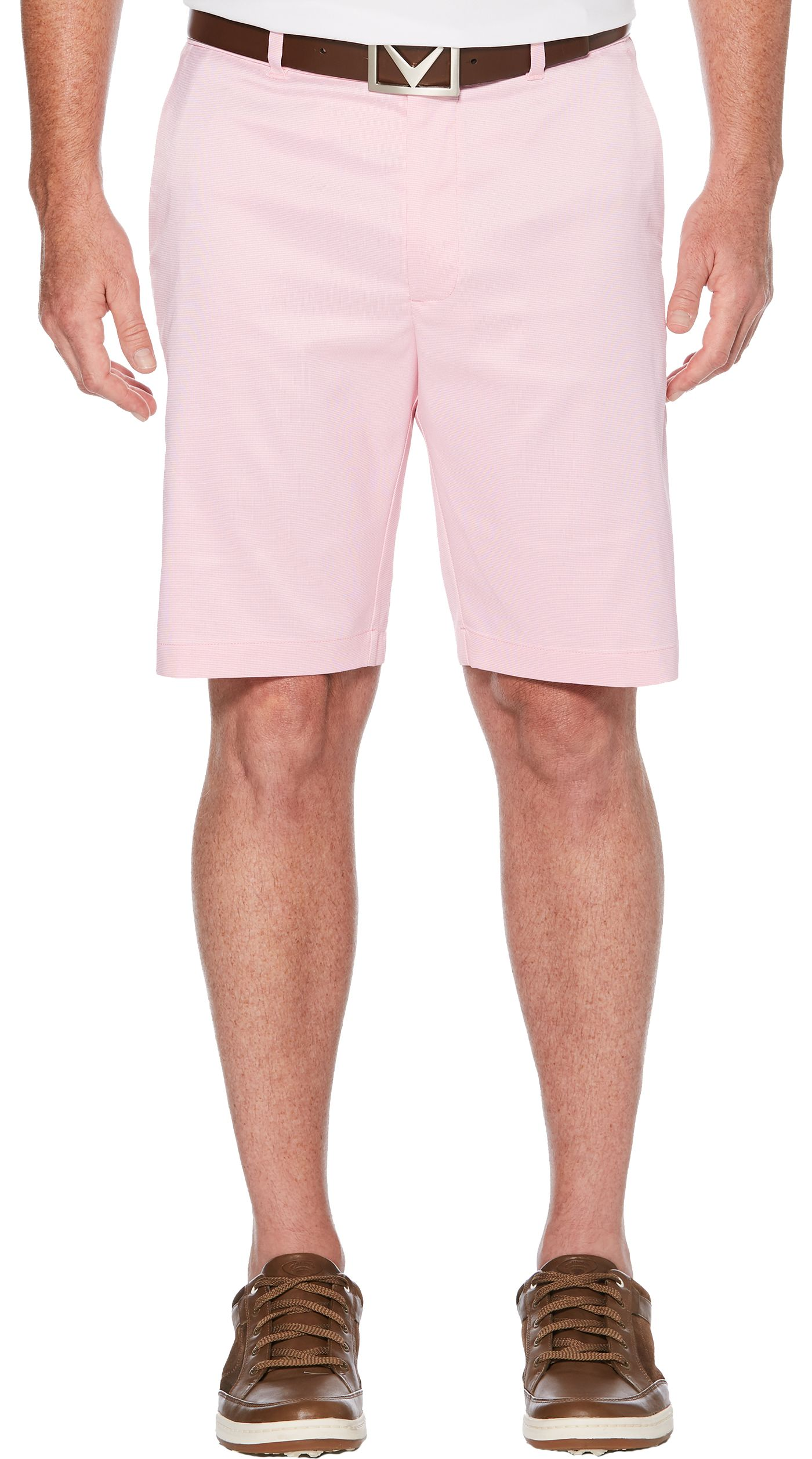 Callaway Men's Flat Front Oxford Golf Shorts