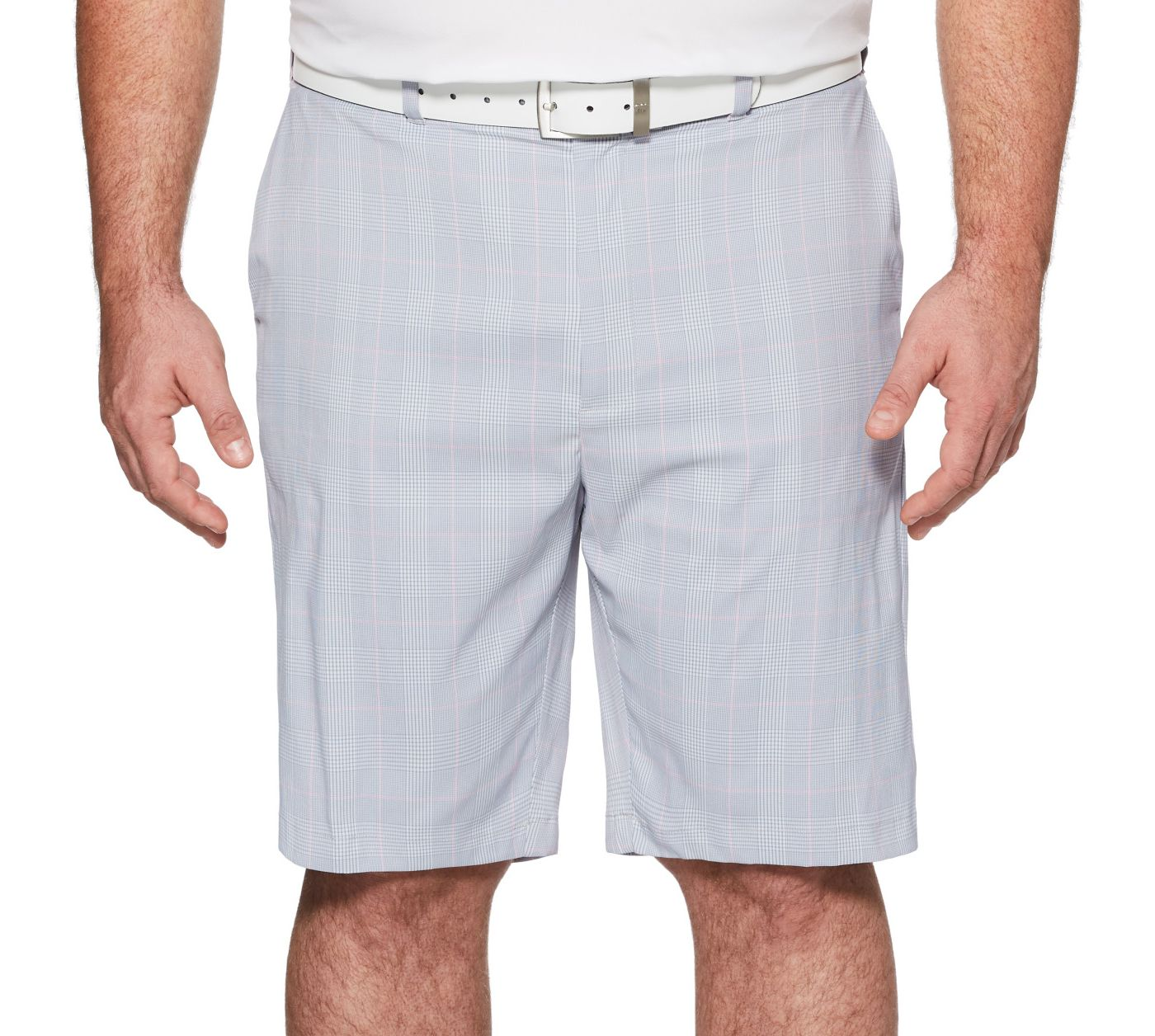 Callaway Men's Glen Plaid Golf Shorts - Big & Tall