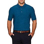 Callaway Men's Heather Fineline Stripe Golf Polo