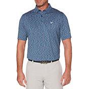 Callaway Men's Marled Jacquard Golf Polo