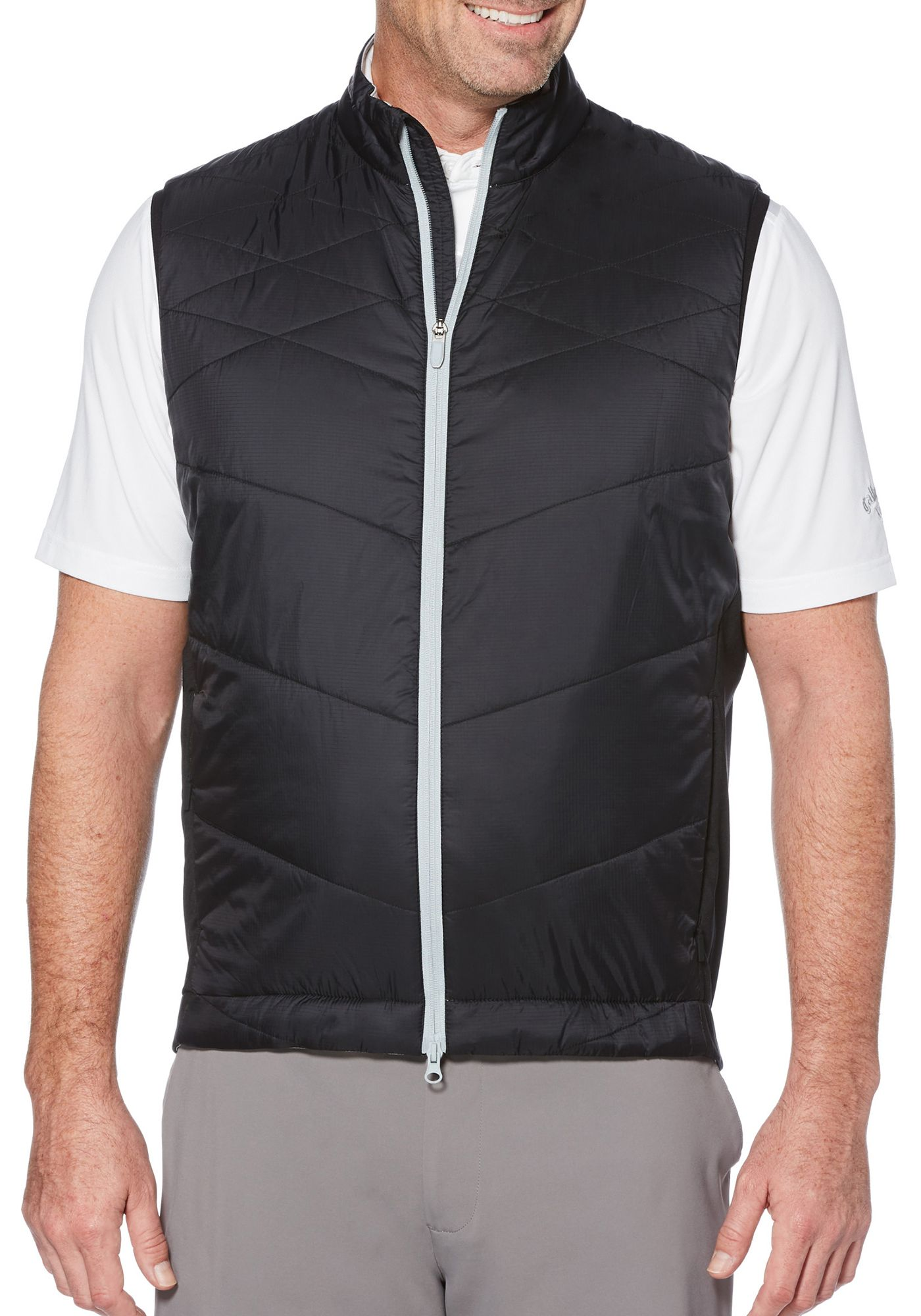 Callaway Men's Swing-Tech Quilted Golf Vest