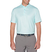 Callaway Men's Printed Gingham Golf Polo
