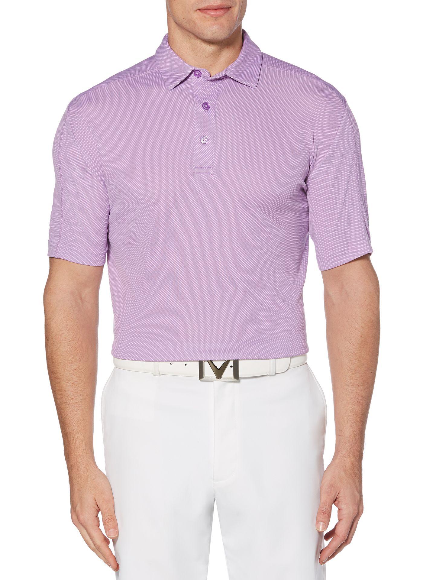 Callaway Men's Refined Jacquard Golf Polo