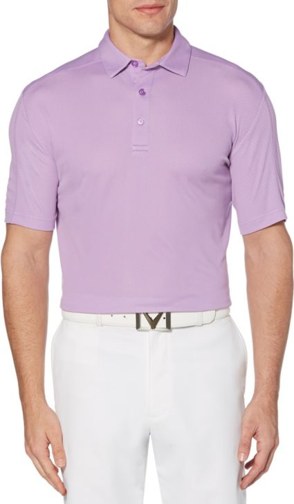 Callaway Men's Refined Jacquard Golf Polo