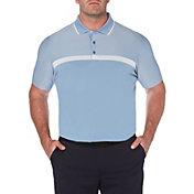 Callaway Men's Swing-Tech Fineline Colorblock Golf Polo – Big & Tall