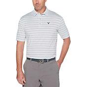 Callaway Men's Ventilated Stripe Golf Polo