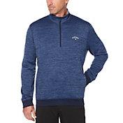 Callaway Men's Water Resistant Dual-Action ¼ Zip Golf Pullover