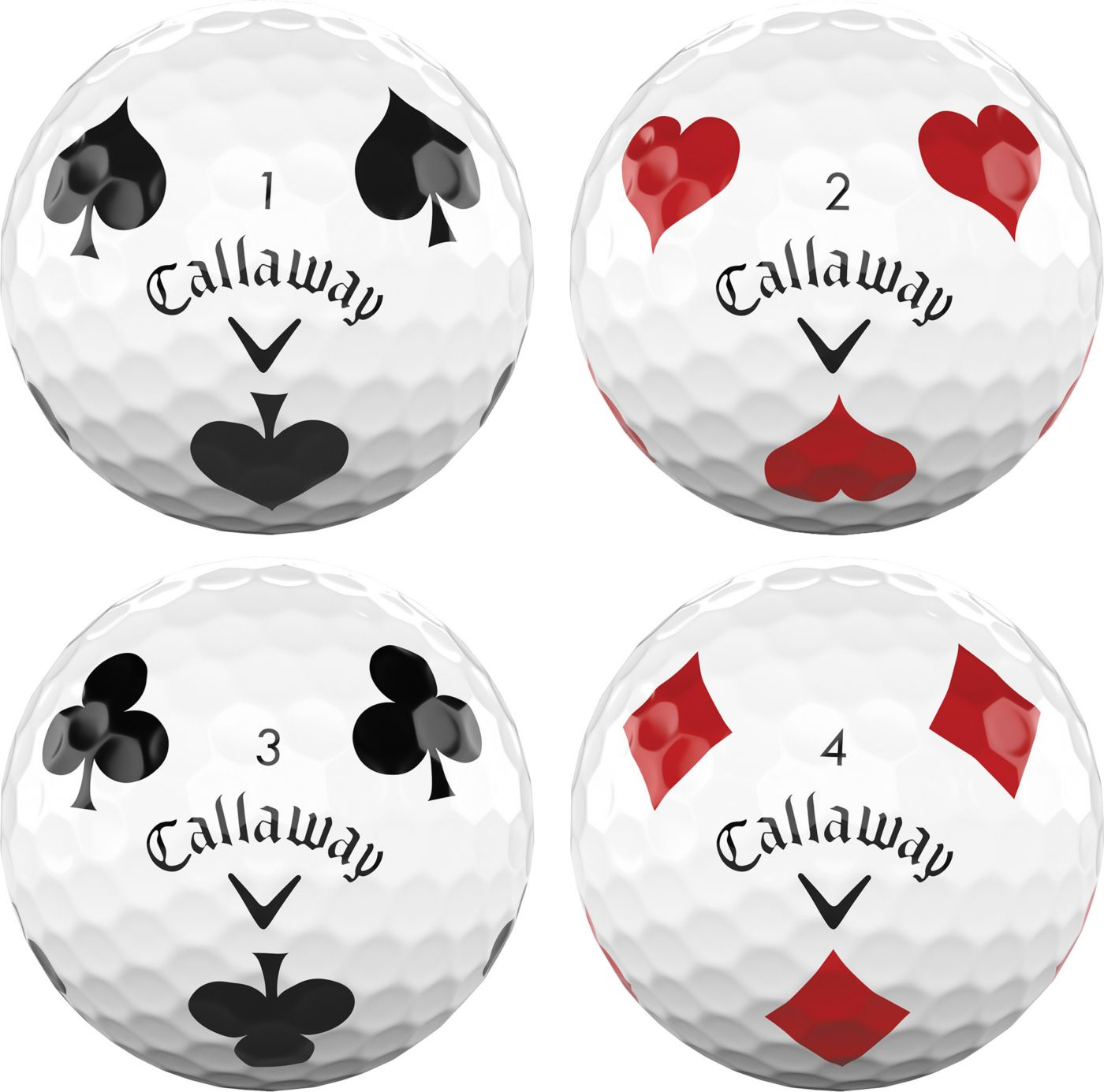 Callaway 2019 Chrome Soft Truvis Suits Golf Balls