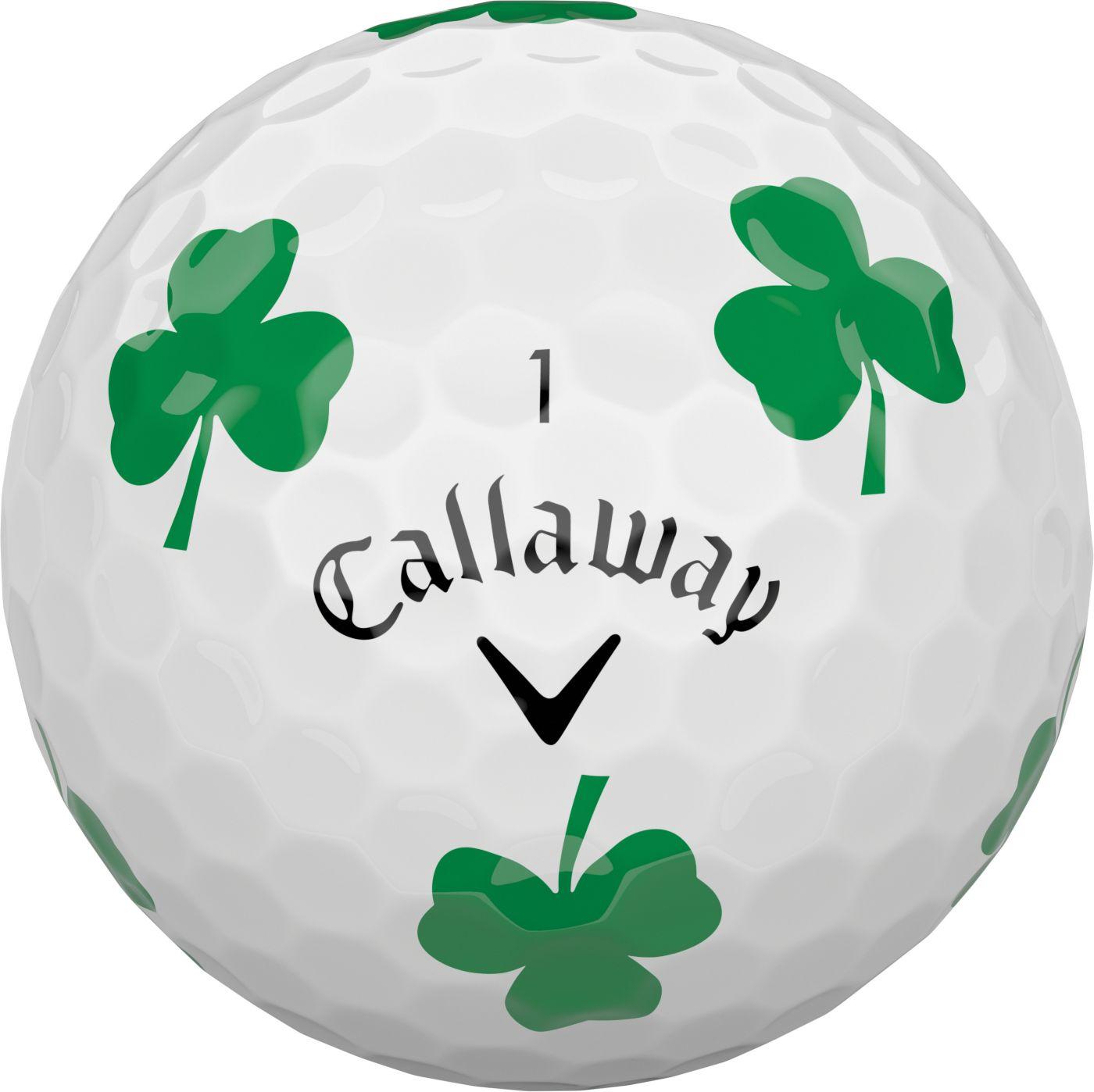 Callaway 2018 Chrome Soft Truvis Shamrock Golf Balls