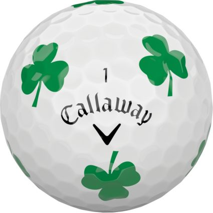 Callaway 2018 Chrome Soft Truvis Shamrock Golf Balls