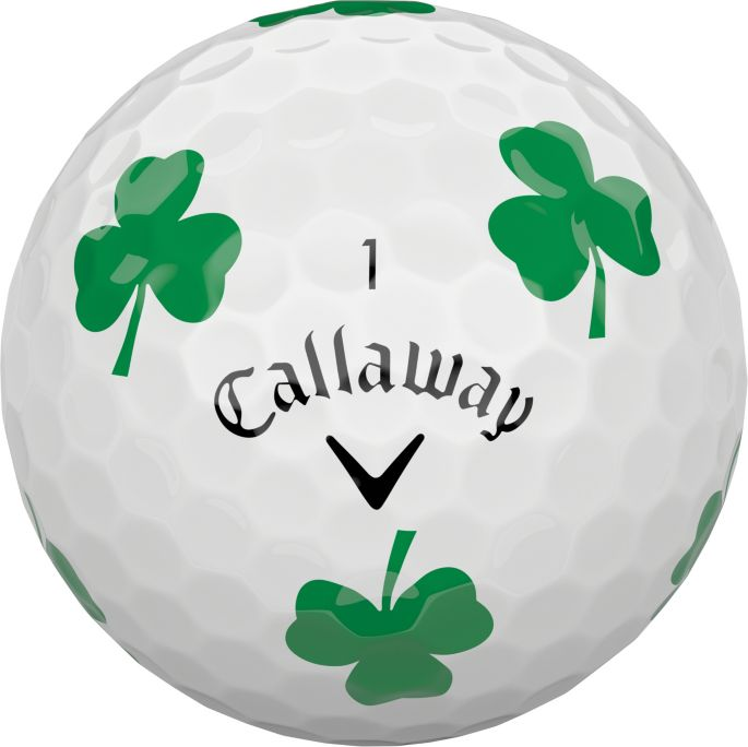 4341e930343b Callaway 2018 Chrome Soft Truvis Shamrock Golf Balls 1