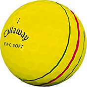 Callaway ERC Soft Yellow Personalized Golf Balls