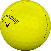Callaway 2019 Supersoft Yellow Personalized Golf Balls