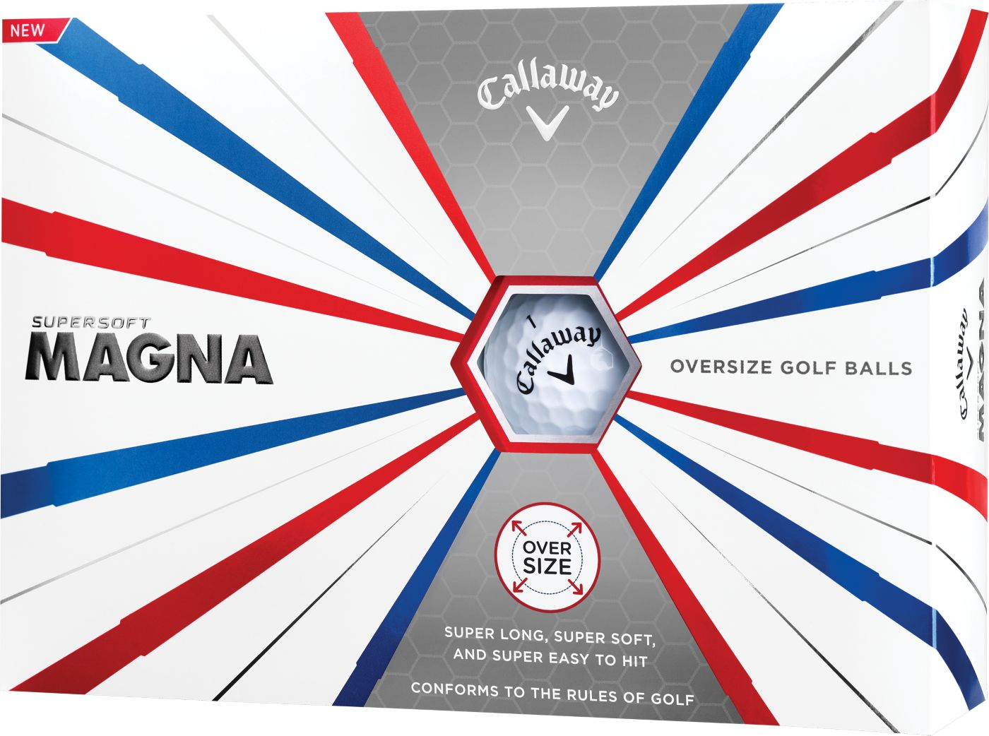 Callaway 2019 Supersoft Magna Personalized Golf Balls