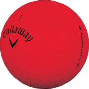 Callaway 2019 Supersoft Matte Red Personalized Golf Balls