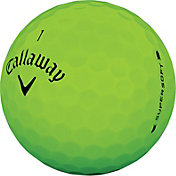 Callaway 2019 Supersoft Matte Green Personalized Golf Balls