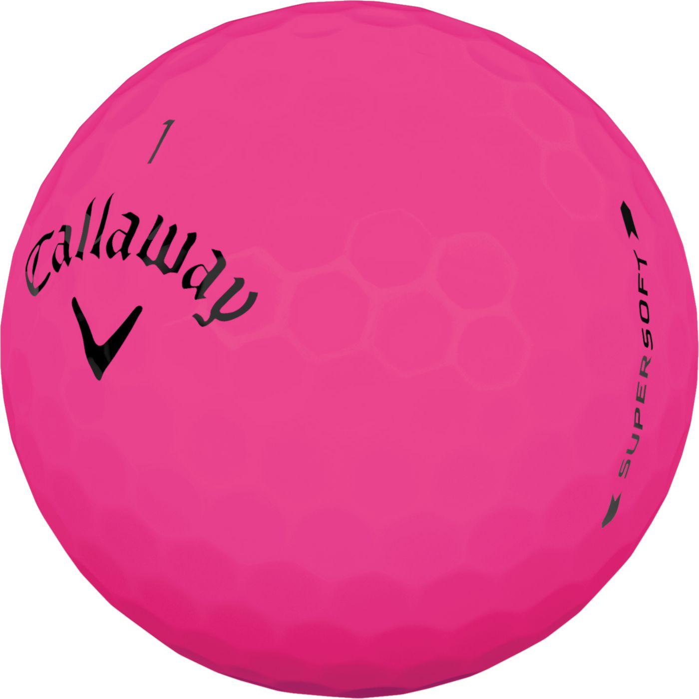 Callaway 2019 Supersoft Matte Pink Golf Balls