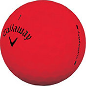 Callaway 2019 Supersoft Matte Red Golf Balls