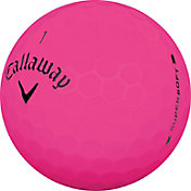 Callaway 2019 Supersoft Matte Pink Personalized Golf Balls