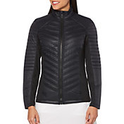 Callaway Women's Mixed Media Puffer Golf Jacket