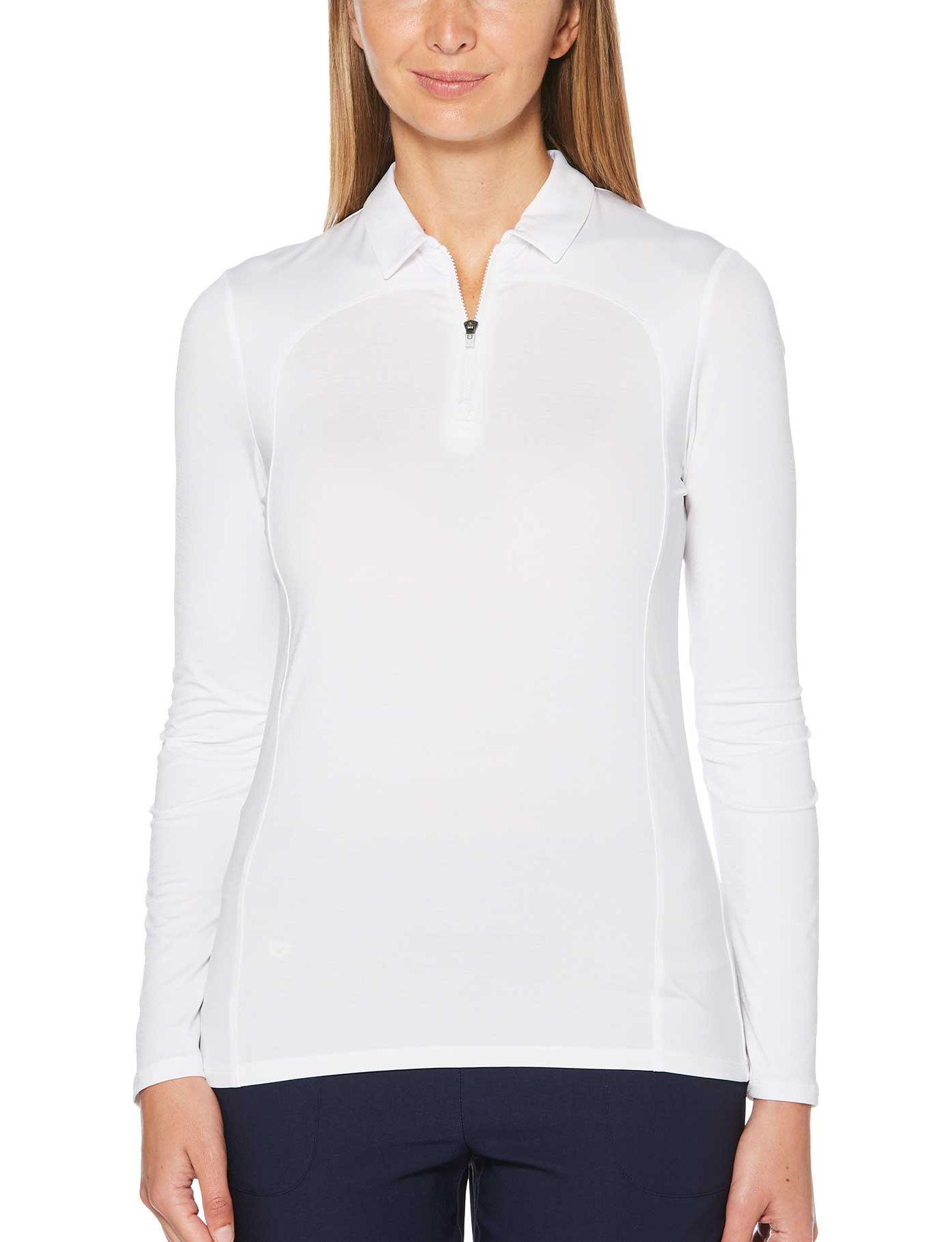 Callaway Women's ¼-Zip Long Sleeve Golf Polo