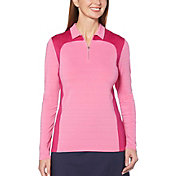 Callaway Women's ¼-Zip Long Sleeve Golf Polo