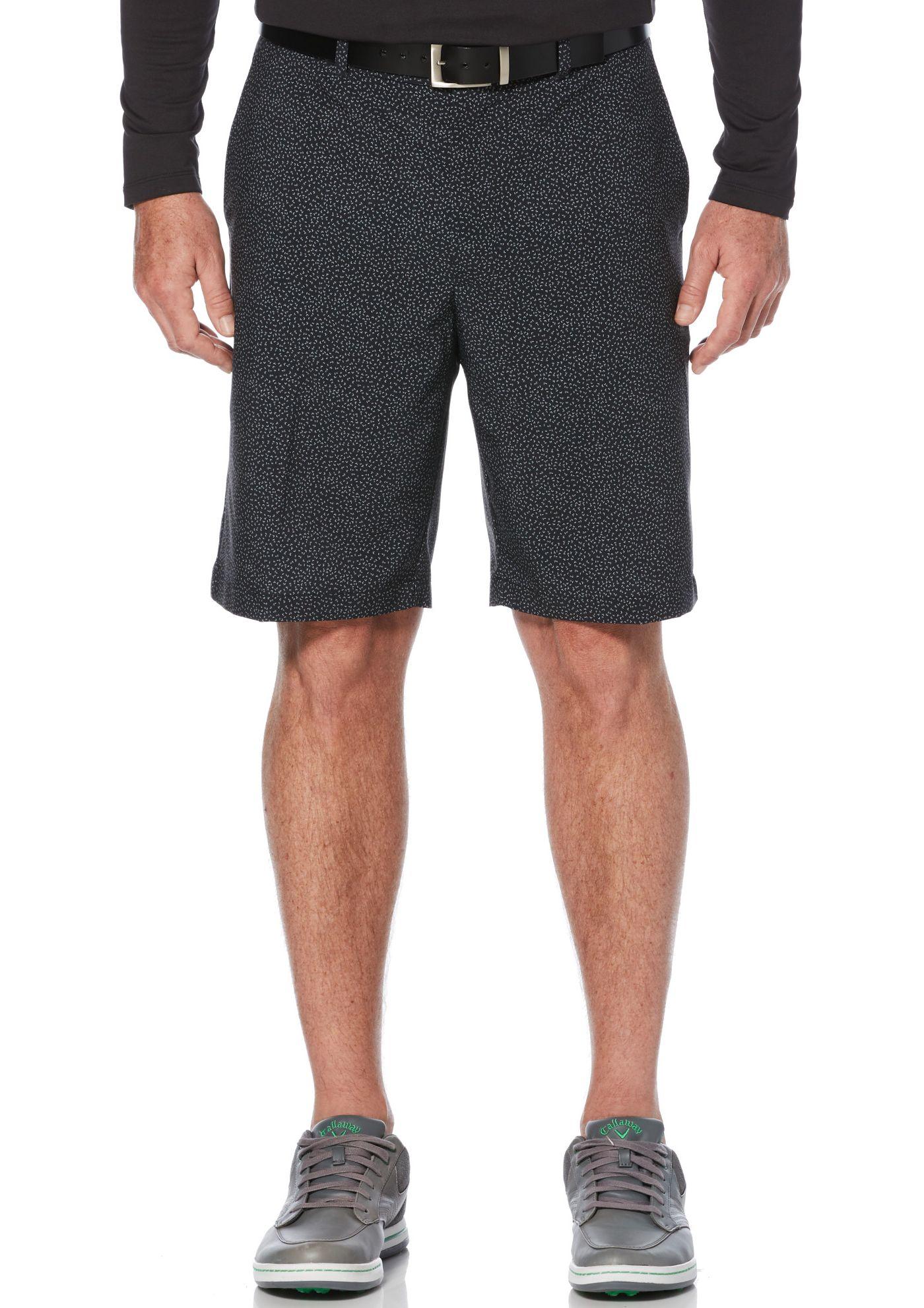 Callaway Men's Mini Flying Chevron Printed Golf Shorts – Big & Tall