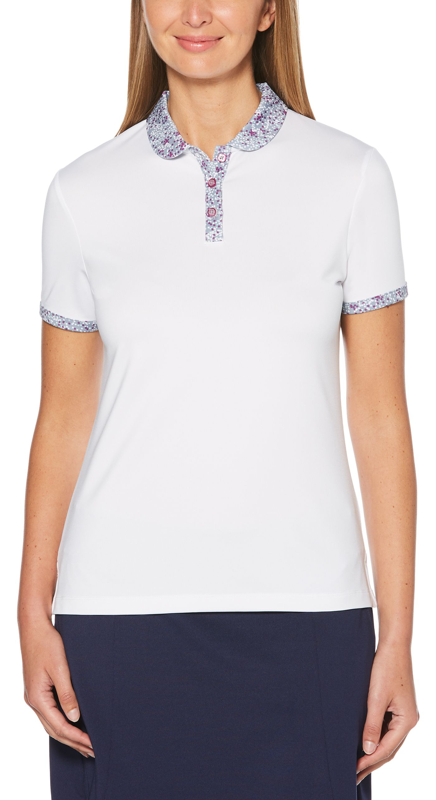 Callaway Women's Solid Golf Polo - Extended Sizes