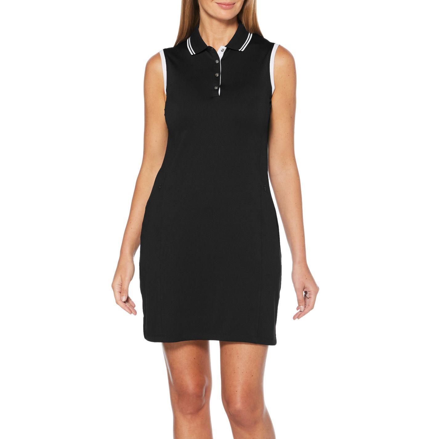 Callaway Women's Solid Sleeveless Golf Dress