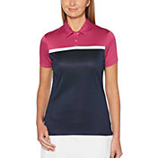 Callaway Women's Color Block Golf Polo
