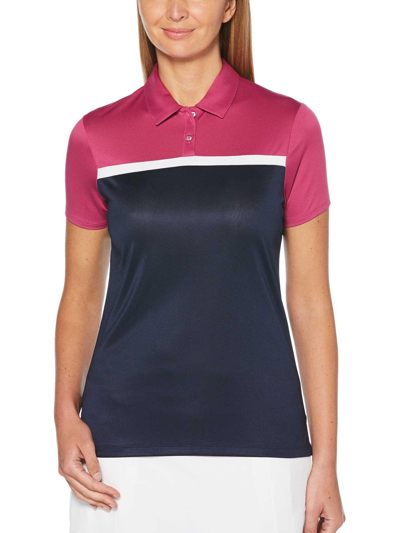Callaway Women's Color Block Golf Polo