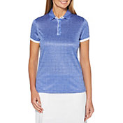 Callaway Women's Mini Geo Print Golf Polo