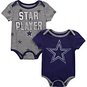 Dallas Cowboys Merchandising Infant 2-Pack Bodysuit